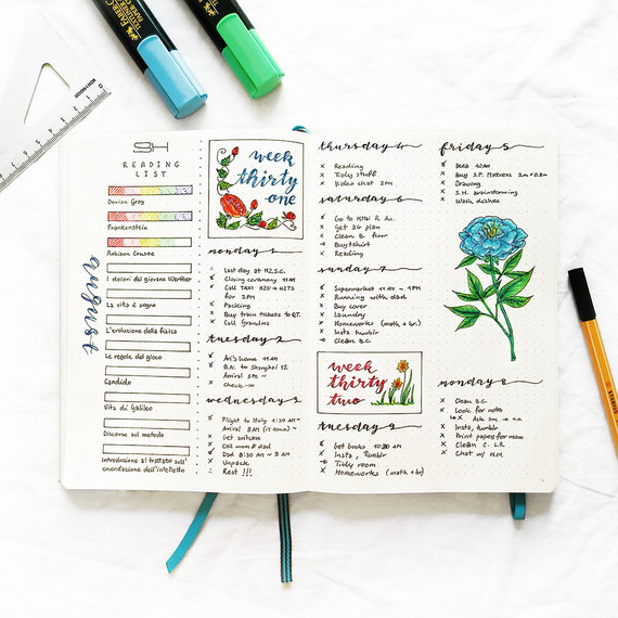 De bullet journal is quickly gaining popularity as an organizational method.