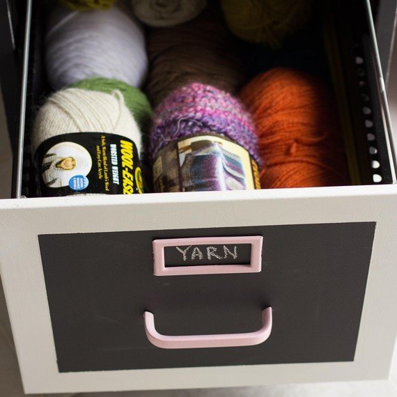 Fail Cabinet Yarn Storage