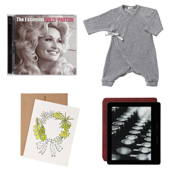 dolly parton cd onesie greeting card kindle