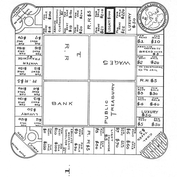 landlord game patent