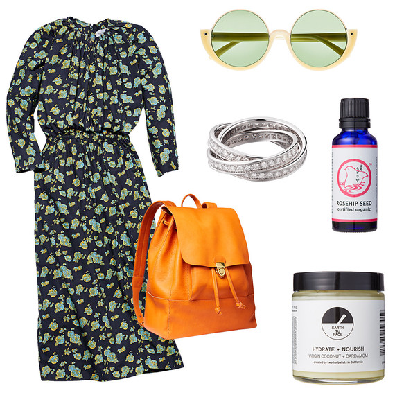 Kate huling style dress bag skincare